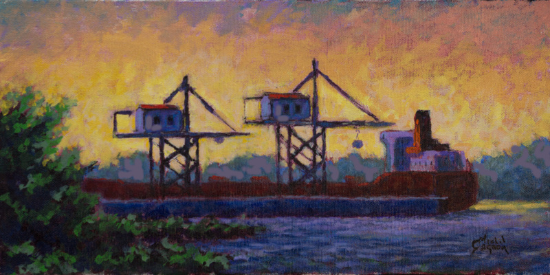 Une exposition haute en couleur du peintre Michel Gagnon, à Contrecœur!