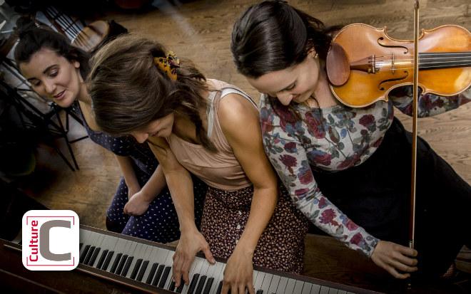 Spectacle du trio musical Lilas l'bon temps